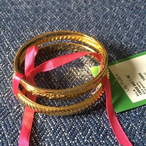 Lilly Pulitzer Bangle Bracelets NWT set of two